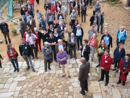 Les bénévoles de Maisons Paysannes de France lors du congrès 2013 au Lude (72)