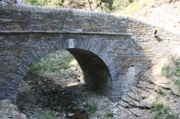 Pont reconstitué de la commune de Saint Andéol de Clerguemont