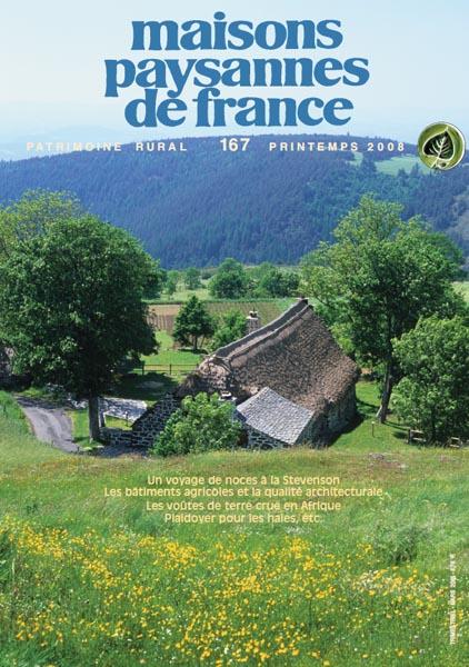 revue n 167 b timents agricoles terre crue haies maisons paysannes de france. Black Bedroom Furniture Sets. Home Design Ideas