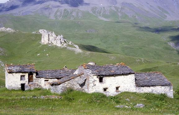 La Chavière (commune de Termignon, Parc National de la Vanoise, Savoie, Rhône-Alpes)