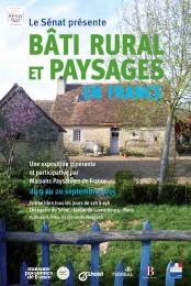 """Affiche de l'exposition MPF """"Bâti rural et paysages"""""""