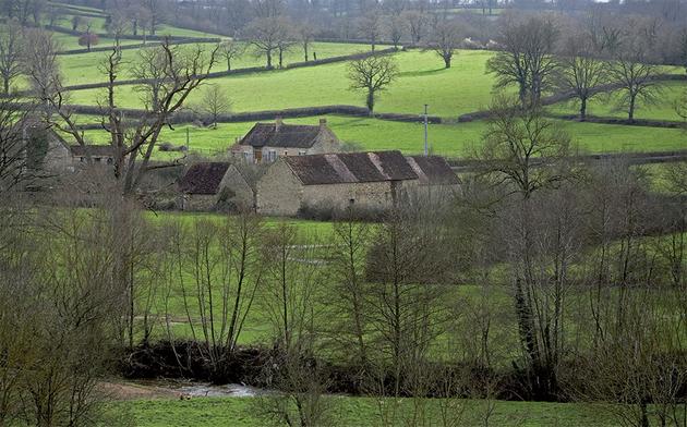 Hameau de la Brenne © D.Chiappero