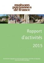 Consultez le rapport d'activités Maisons Paysannes 2015