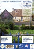 """L'expo photos """"Bâti rural et paysage"""" continue son tour de France..."""