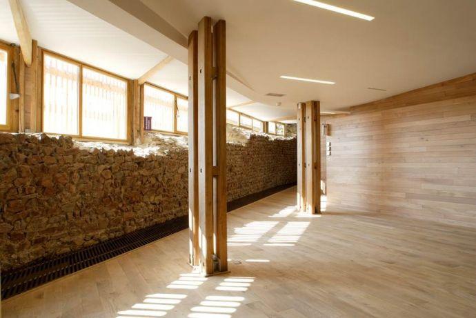 Le musée archéologique du château de Mayenne, 2003-08, architecte Philippe Madec © Serge Demailly, photographe