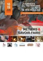 Journées du Patrimoine de Pays et des Moulins : édition 2016 !