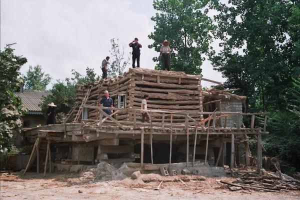Démontage maison du Guilan