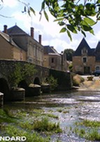 Découverte d'Asnières sur Vègre en Sarthe