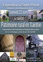 Patrimoine rural en Xaintrie - exposition