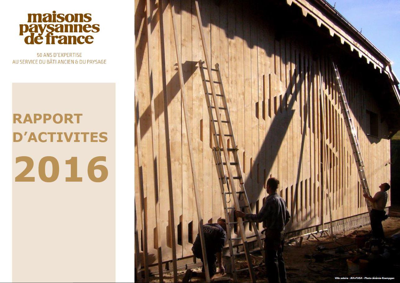 Rapport d'activités MPF 2016
