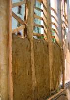 Manche Réparation torchis sur pan de bois