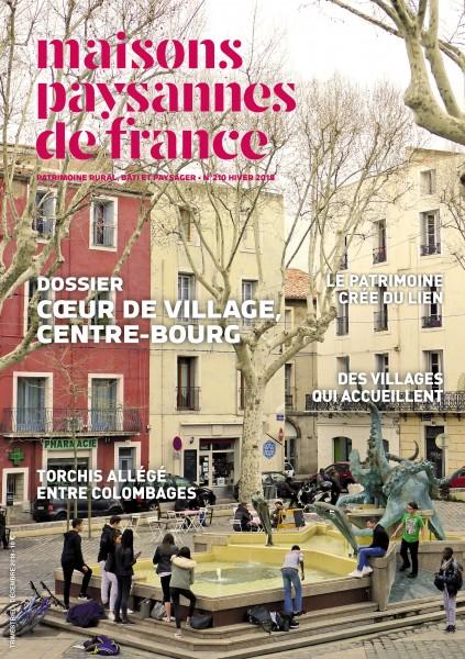 Couverture de la revue Maisons Paysannes n°210