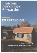Maisons Paysannes de la Sarthe édite une revue annuelle pour ses adhérents