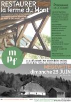 Journées du Patrimoine de Pays et des Moulins à la ferme du Mont, Mégevette (74), le 23 juin 2019