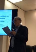 """Conférence """"la Terre dans la construction"""" au Salon du patrimoine 2019"""