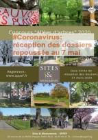 Concours «Allées d'arbres» et «Second œuvre» Lancement de l'édition 2020