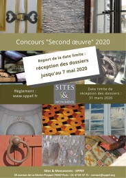 Concours second oeuvre