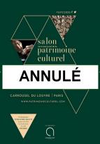 Annulation de l'édition 2020 du salon international du patrimoine culturel
