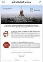 Remise du Prix Patrimoine de la Fondation Bern pour le projet WIKI de MPF