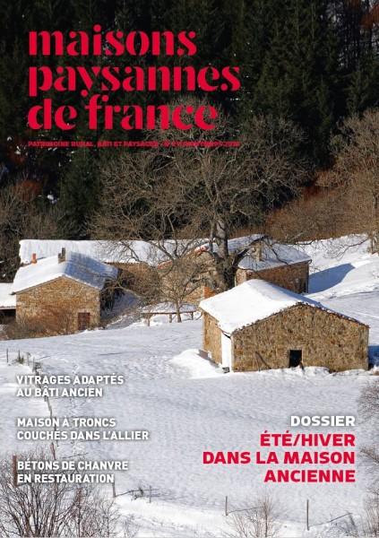 Couverture de la revue Maisons Paysannes 211